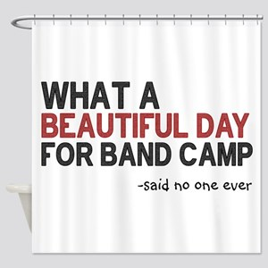 Band Camp Shower Curtain
