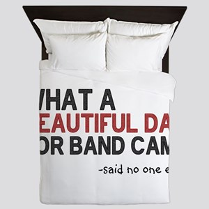 Band Camp Queen Duvet