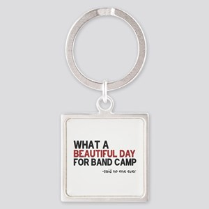 Band Camp Square Keychain