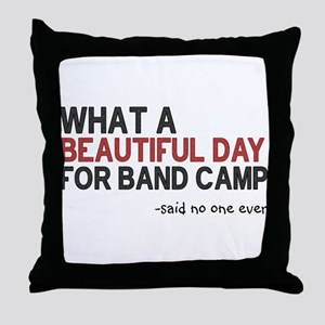 Band Camp Throw Pillow