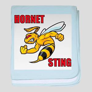 Hornet Sting baby blanket