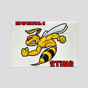 Hornet Sting Rectangle Magnet