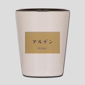 Alden, Your name in Japanese Katakana System Shot