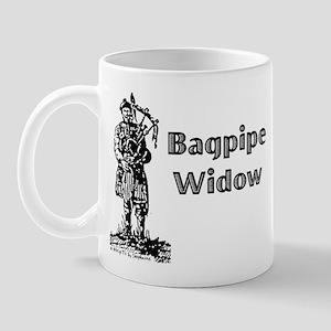 Bagpipe Widow Mug
