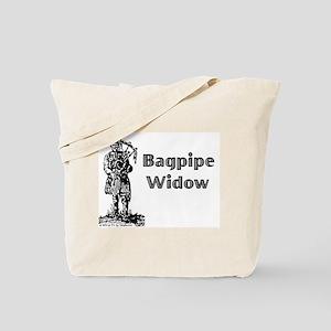 Bagpipe Widow Tote Bag