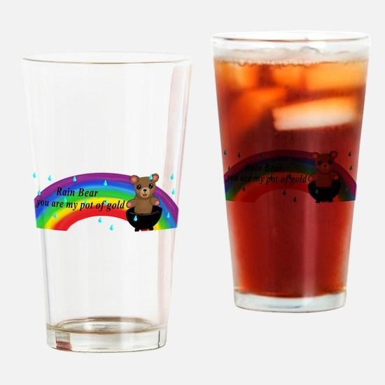 Rain Bear Drinking Glass