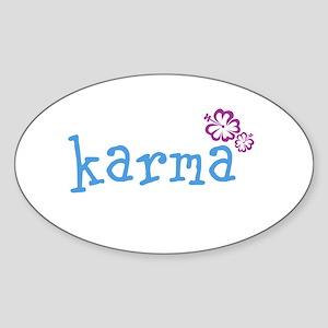 Karma Hawaian Lrg Sticker