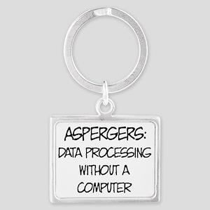 Aspergers Geek Keychains