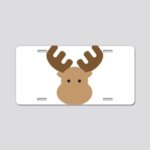 Moose Aluminum License Plate