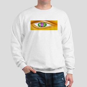 Gold faced eye Sweatshirt