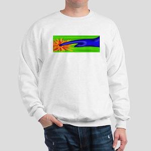 Hot touch finger Sweatshirt