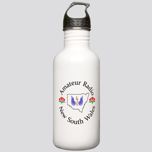 Amateur Radio NSW Logo Water Bottle