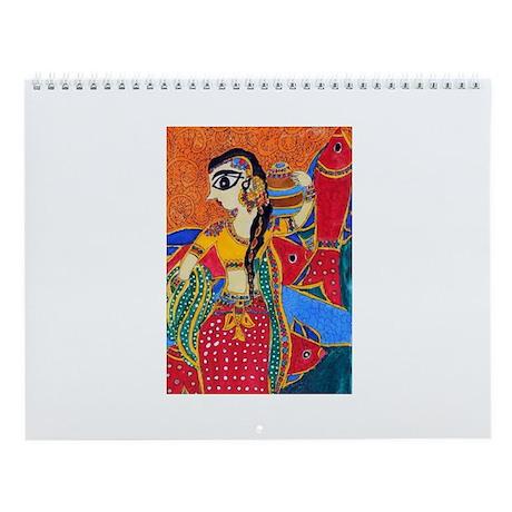 Matsakanya (Mermaid) Wall Calendar
