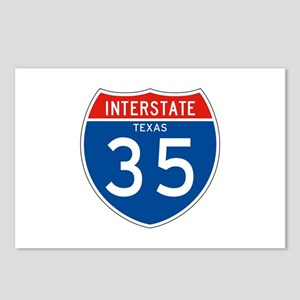 Interstate 35 - TX Postcards (Package of 8)