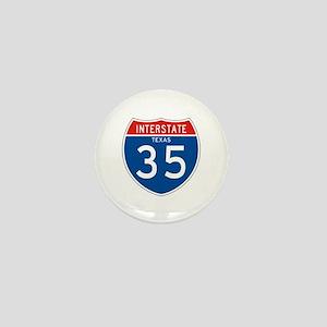 Interstate 35 - TX Mini Button