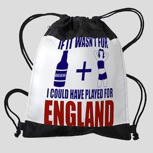 Fun England Football supporter tee Drawstring Bag