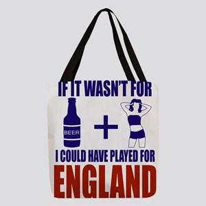Fun England Football supporter Polyester Tote Bag