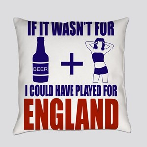 Fun England Football supporter tee Everyday Pillow