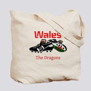 Wales football celebration Tote Bag