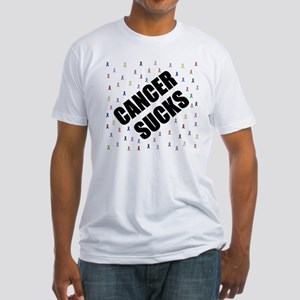 cancer sucks many ribbons T-Shirt