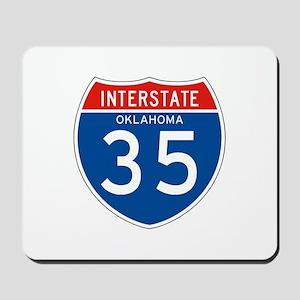 Interstate 35 - OK Mousepad