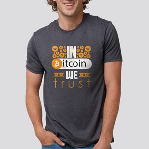 In Bitcoin We Trust Mens Tri-blend T-Shirt