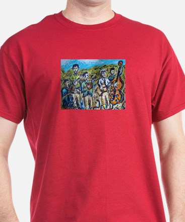 Del McCoury Painting T-Shirt