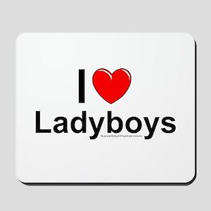 Ladyboys Mousepad
