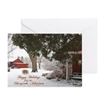 happy holidays from Ches Arboretum Greeting Card