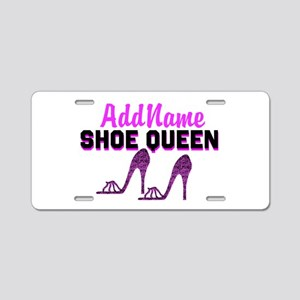 HIGH HEEL GIRL Aluminum License Plate