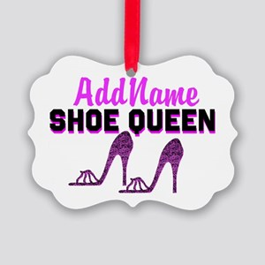 HIGH HEEL GIRL Picture Ornament