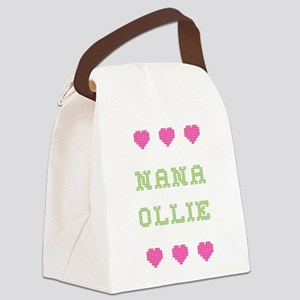 Nana Ollie Canvas Lunch Bag