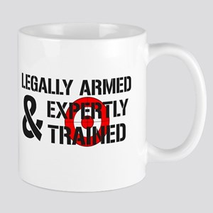 Legally Armed Expertly Trained Mug