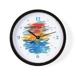 Atom Sea #21 Wall Clock