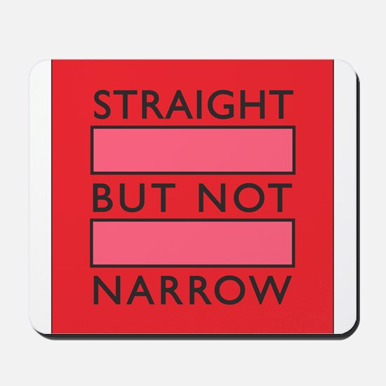 I Support Marriage Equality in Pink Mousepad