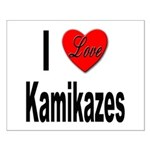 I Love Kamikazes Small Poster