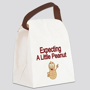 Expecting a little Peanut Canvas Lunch Bag