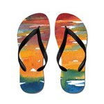 Atom Sea #21 Flip Flops
