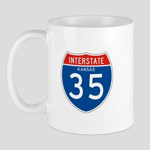 Interstate 35 - KS Mug