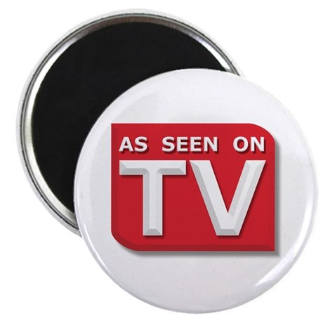 "Funny As Seen on TV Logo 2.25"" Magnet (10 pack)"