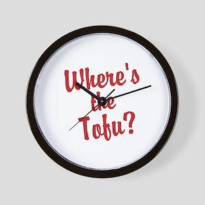Wheres the Tofu? Wall Clock