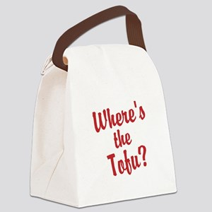 Wheres the Tofu? Canvas Lunch Bag