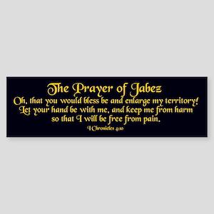 Jabez Prayer Bumper Sticker