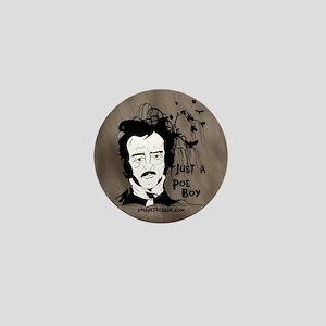 Funny Edgar Allen Poe Mini Button