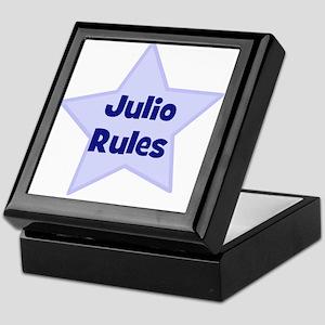 Julio Rules Keepsake Box
