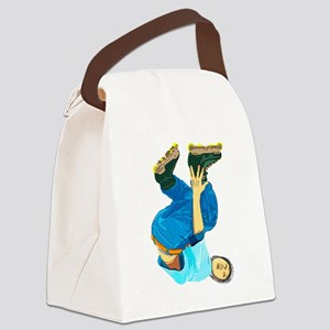 Rollerblading Canvas Lunch Bag
