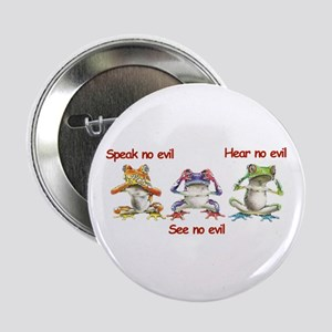 Three Frogs Button