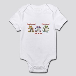 Three Frogs Infant Bodysuit