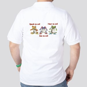 Three Frogs Polo Shirt