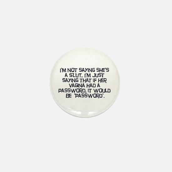 Password Mini Button